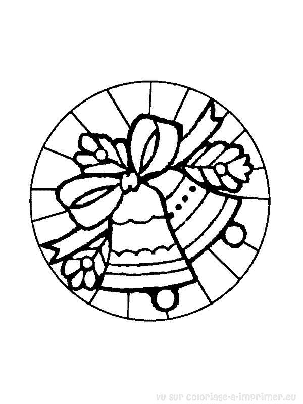 coloriage à imprimer coloriage mandala noel 023