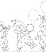 coloriage carnaval 008