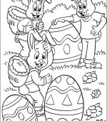 coloriage paques 006