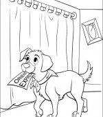 coloriage 102 Dalmatiers 035