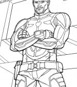 coloriage GI-joe 001