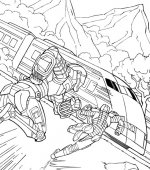 coloriage GI-joe 002