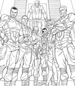 coloriage GI-joe 003