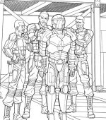 coloriage GI-joe 009