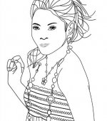 coloriage High School Musical 003