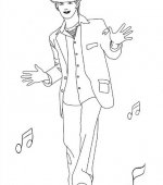 coloriage High School Musical 006