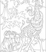 coloriage The Wild 001