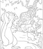 coloriage The Wild 003