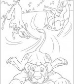 coloriage The Wild 009
