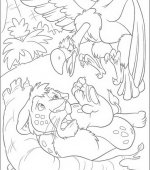 coloriage The Wild 014