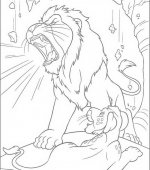 coloriage The Wild 017