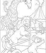coloriage The Wild 018