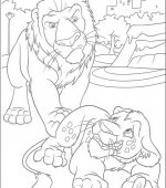 coloriage The Wild 019