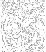 coloriage The Wild 024