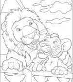 coloriage The Wild 025