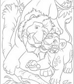 coloriage The Wild 048