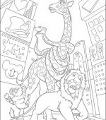 coloriage The Wild 050