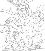 coloriage The Wild 051