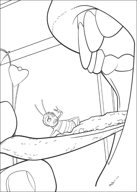Index Of Coloriages Films Bee Movie