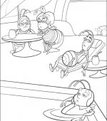 coloriage bee movie 004