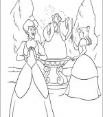 coloriage cendrillon 003
