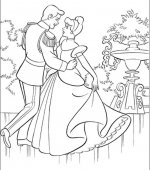 coloriage cendrillon 006