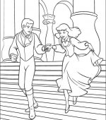 coloriage cendrillon 009
