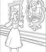 coloriage cendrillon 031