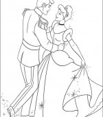 coloriage cendrillon 036