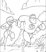 coloriage les incredibles 008