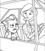 coloriage les incredibles 013