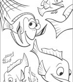 coloriage nemo le film 004