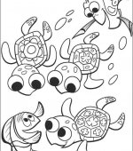 coloriage nemo le film 039