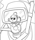 coloriage nemo le film 041