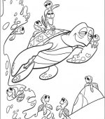 coloriage nemo le film 048