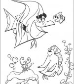 coloriage nemo le film 053