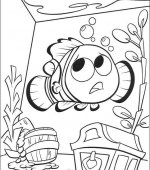 coloriage nemo le film 058