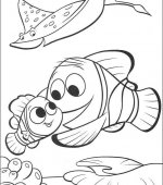 coloriage nemo le film 061