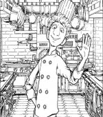 coloriage ratatouille 045