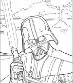 coloriage star wars 002