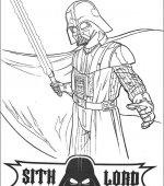 coloriage star wars 006