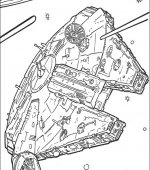 coloriage star wars 024