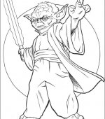 coloriage star wars 027