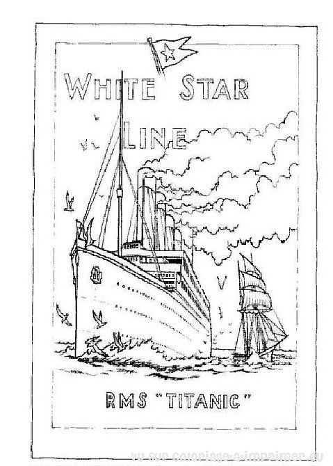 Free Coloring Pages Of Hmhs Britannic Britannic Coloring Pages