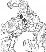coloriage transformers 006