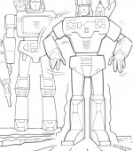coloriage transformers 007