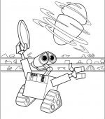 coloriage wall-e 007