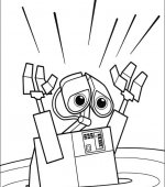coloriage wall-e 035