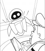 coloriage wall-e 037