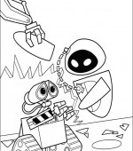 coloriage wall-e 039